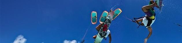 Starten en landen met een kitesurfkite Kitesurfles Scheveningen - Kitesurfen cursus